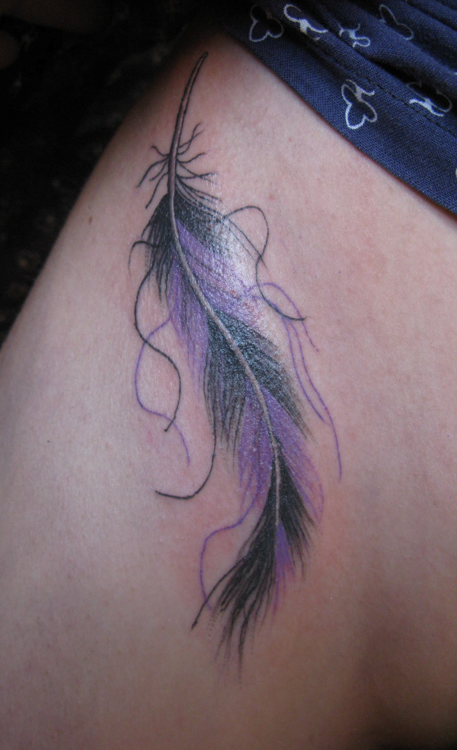 styles magazine feather tattoos for designs
