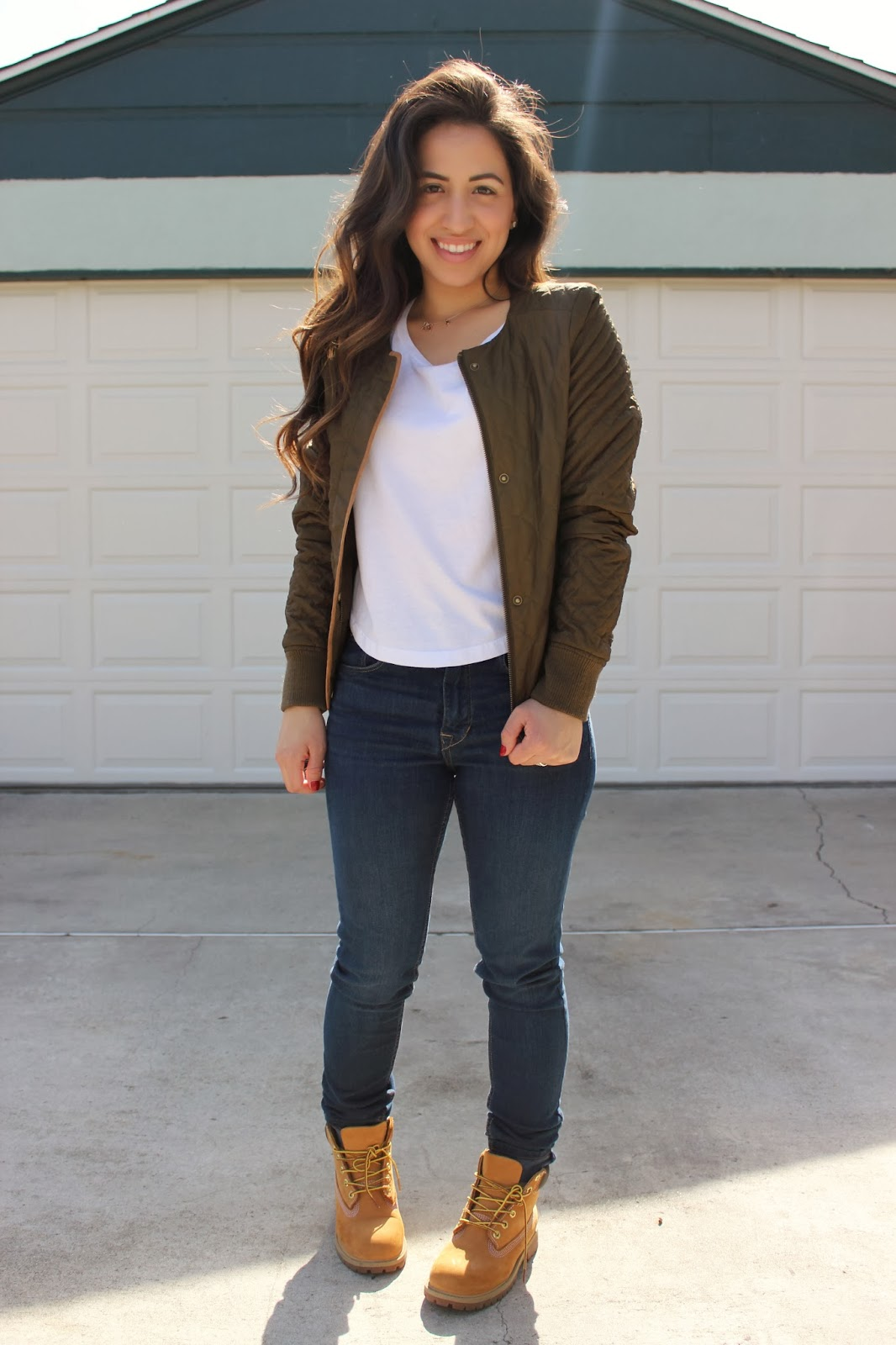 Girl Timbs With Outfits