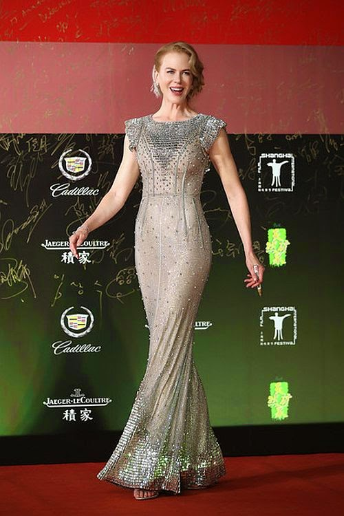 The Grace Kelly movie actress steals the spotlight at the Shanghai International Film Festival on Saturday, June 14, 2014.