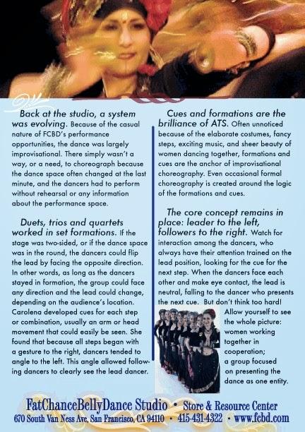 Disociando infinitos. Historia de la danza tribal ATS