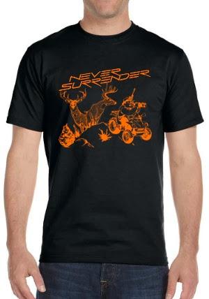Never Surrender The Deer Hunter Shirt