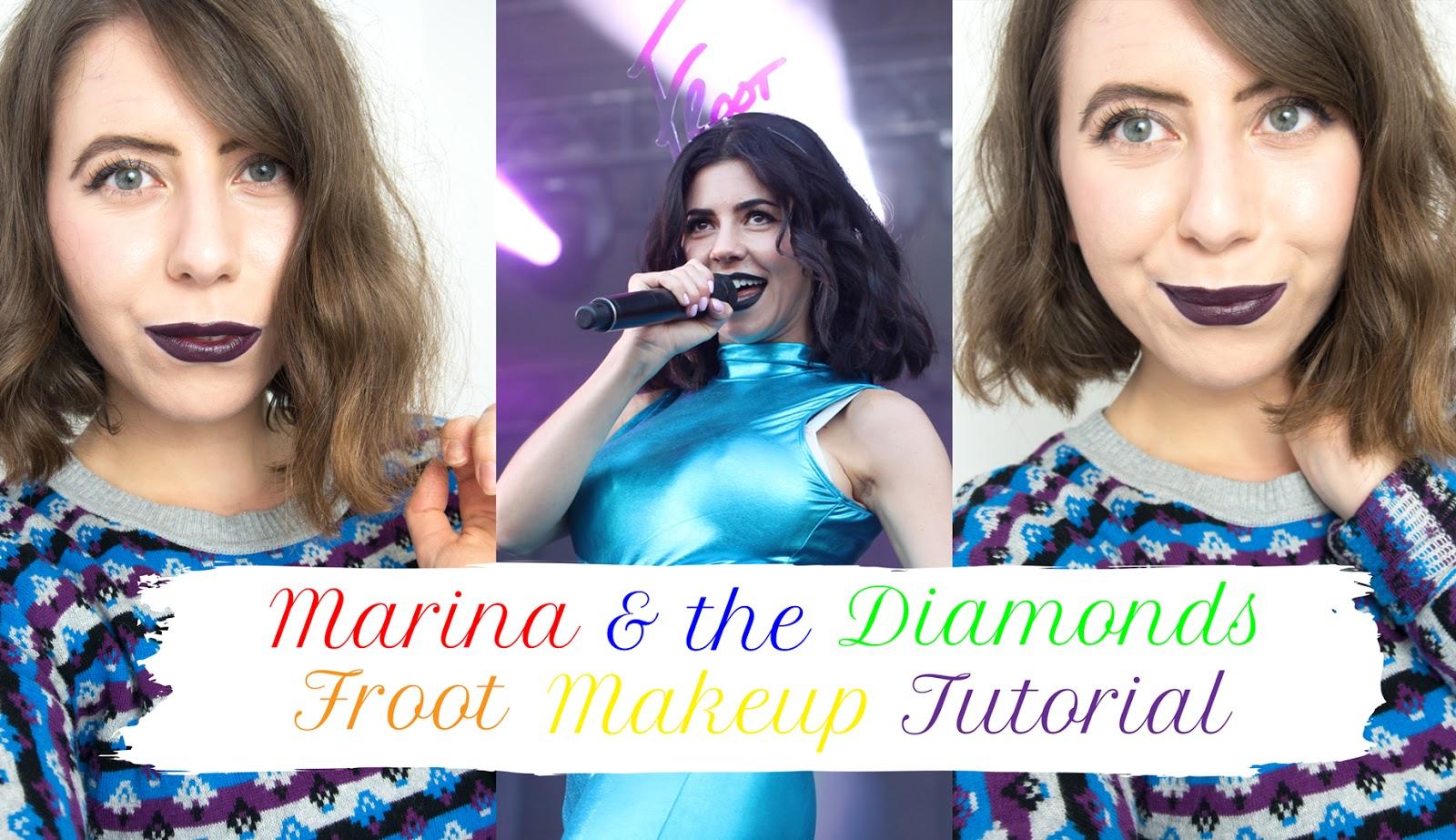 THE VIDEO: MARINA & THE DIAMONDS TUTORIAL