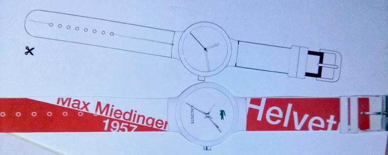 #MyLACOSTEwatch personaliza tu reloj
