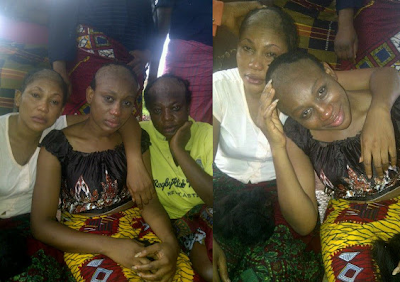 2013 – Nollywood Actress Ebube Nwagbo Goes Bald, Shaves Hair For New