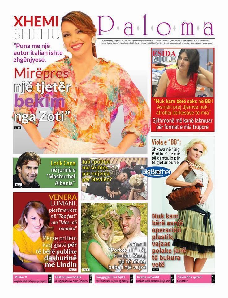Revista PALOMA - 12 Prill 2014