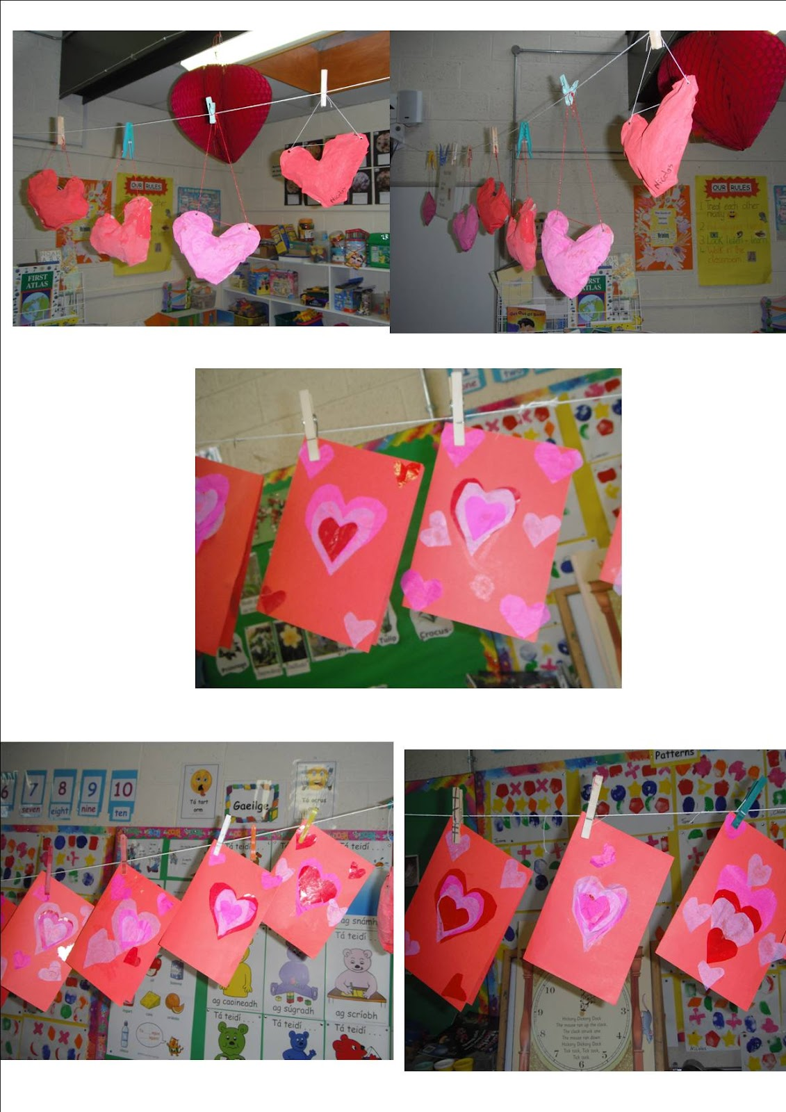 Art Music And Drama Page Valentine S Day Art Senior Infants