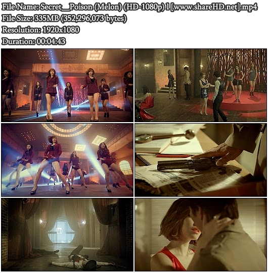 Download MV Secret - Poison (Melon Full HD 1080p)
