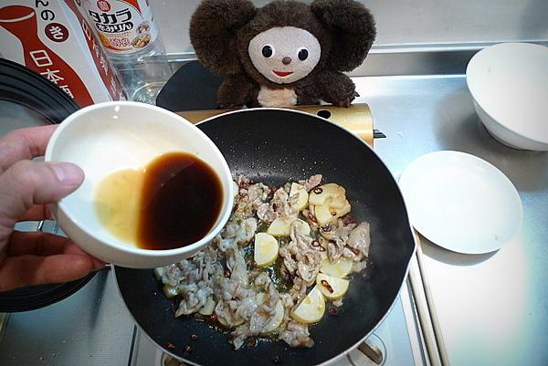 タケノコと豚肉のオイスターソース炒め 作り方
