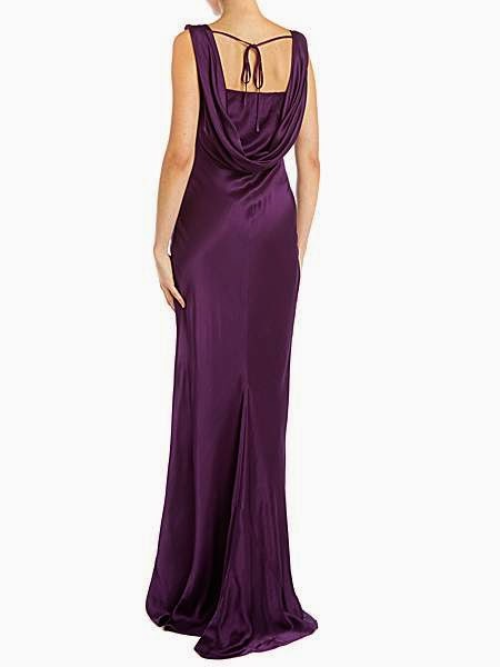 Purple Ghost Dress - Affordable Purple Wedding Dresses