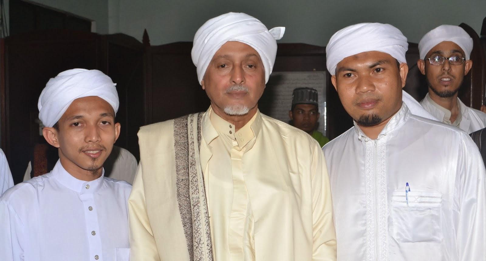 Majlis MUAS yang pertama bersama Habib Abdullah Al Attas Yaman