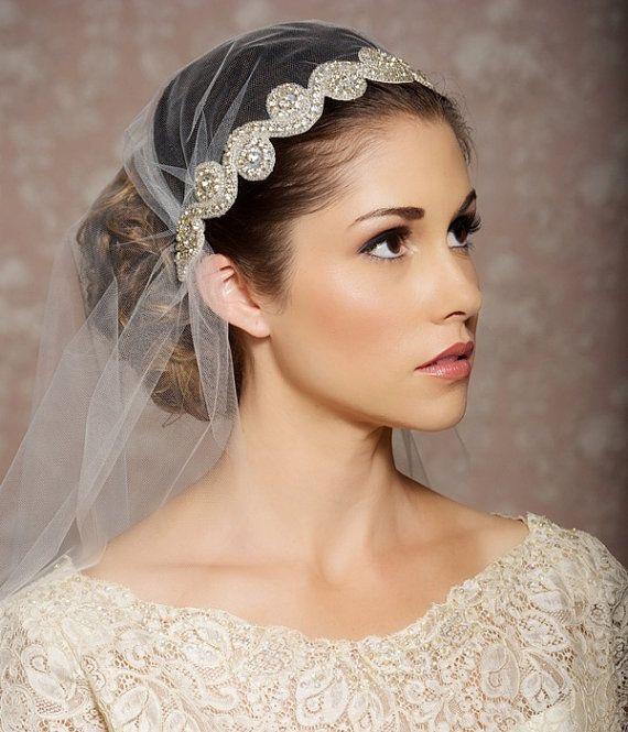 свадебная мода: Juliet Cap