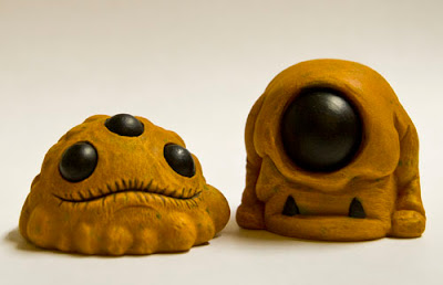 Pumpkin Gread & Pumpkin Funguhs Resin Figures by Lysol