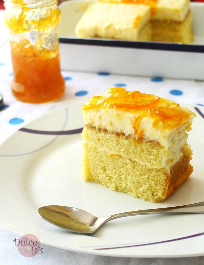 Torta Mousse de Mandarinas