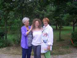 Shara, Barb and me
