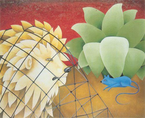 Mamz 39 elle mirabelle le lion et le rat - Image le lion et le rat ...