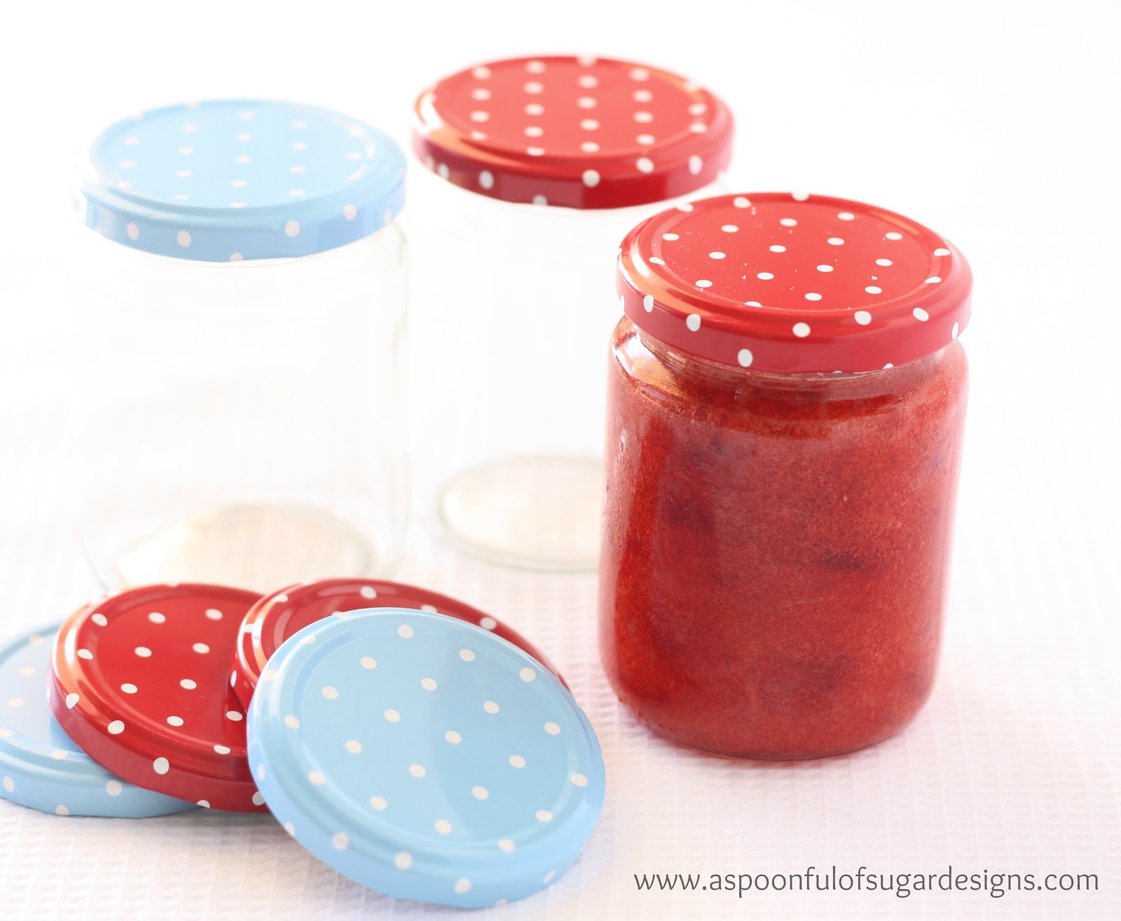 Strawberry Jam - A Spoonful of Sugar