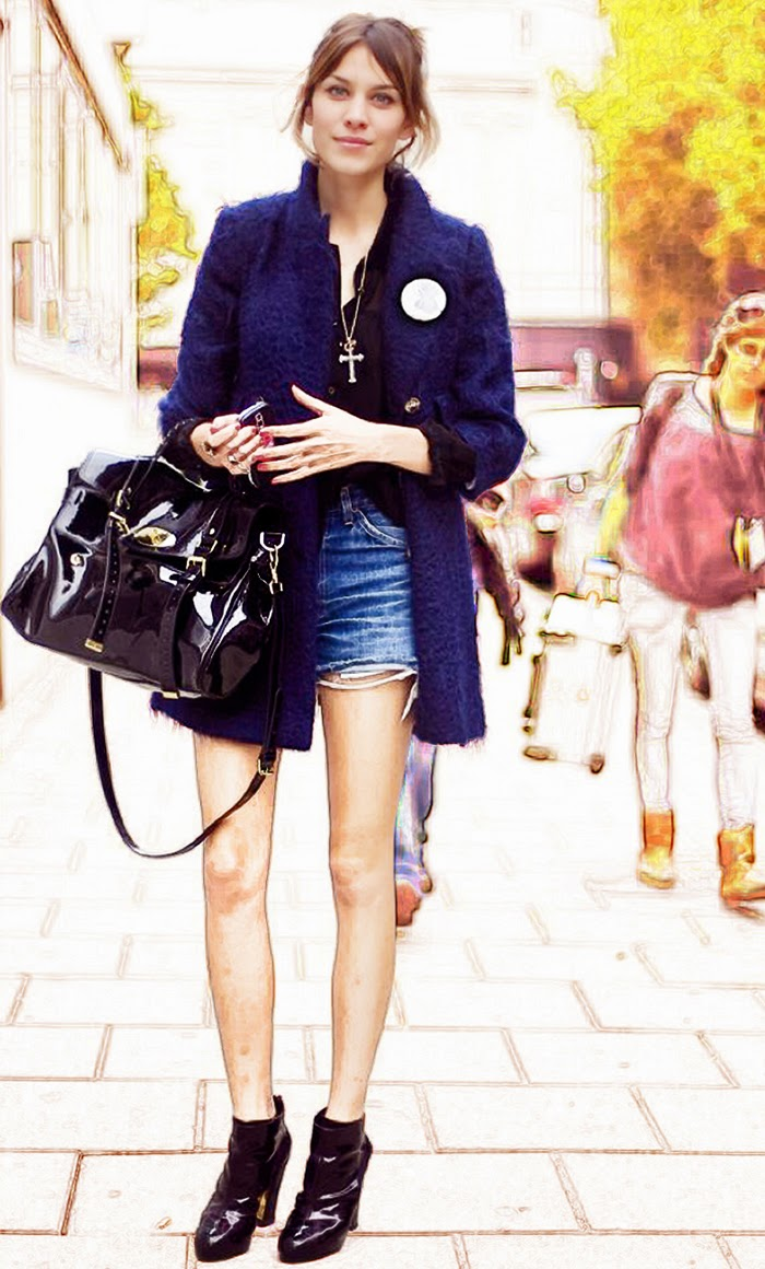 Alexa Chung Street Style - Dressing Look Easy and Always Looks Effortless
