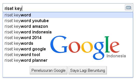 riset keyword di google