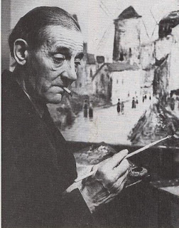 The painter of S Montmartre scenes, Maurice Utrillo, joined I Modigliani on his notorious drinking bouts.