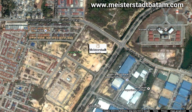 Google Map Meisterstadt Batam