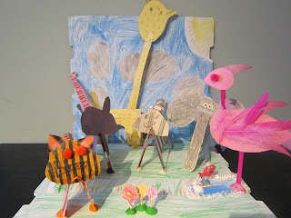 paper animals, kids craft, zoo craft