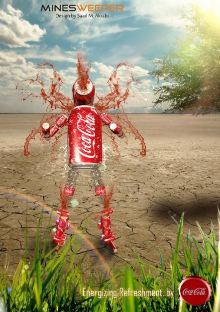 Contoh iklan dengan desain grafis ~ Anita RH