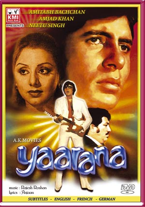 Yaarana 1981 Mp3 Songs Download Hindi Songs