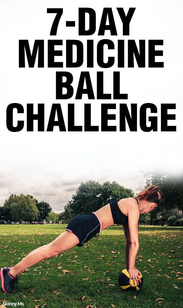 7-Day Medicine Ball Challenge