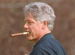 clinton numbers rosy poll cigar