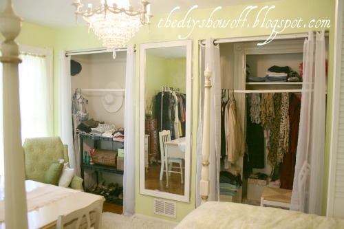 DIY Project Parade: Closet Doors - How to Turn BiFold Doors into ...