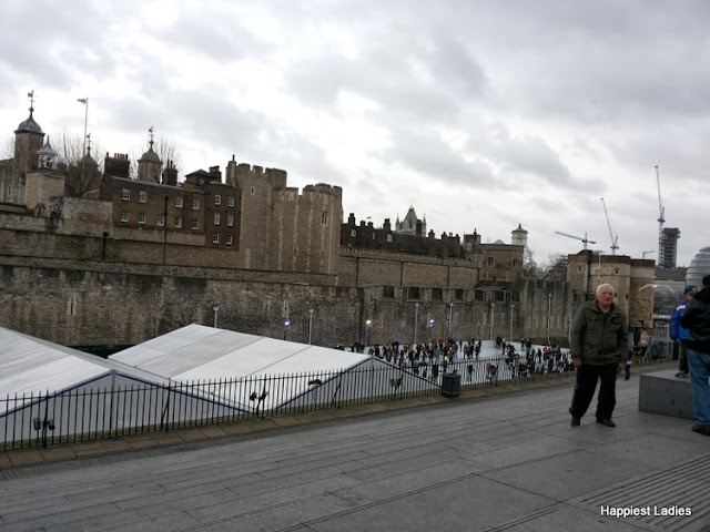the Tower of London Ice Skating