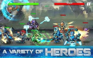 Heroes Infinity MOD APK Unlimited Coins Gems v1.10.3 Full Hack for Android Update Terbaru 2017