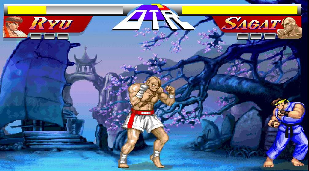 free play street fighter