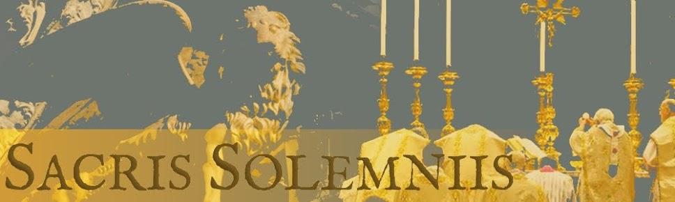 SACRIS SOLEMNIIS