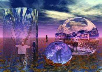 Teleportation as a Way of Traveling to Parallel Worlds?