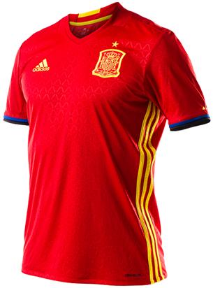 camiseta de la selección española Eurocopa 2016