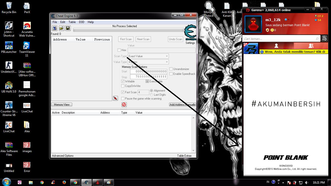 Cheat Engine - skaner pamici, hex editor i debugger - najlepsze 3