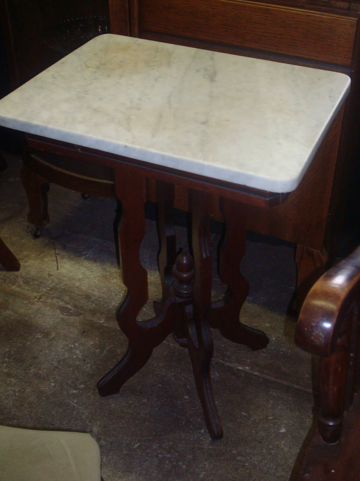 Impressive Antique Marble Top Side Table 1200 x 1600 · 132 kB · jpeg