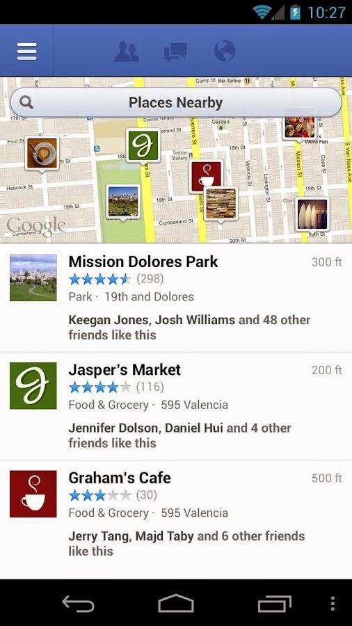 Facebook Android Apk Uygulaması resimi