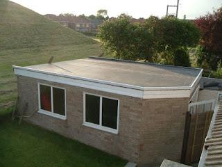 หลังคาแบบแบน Flat Roof