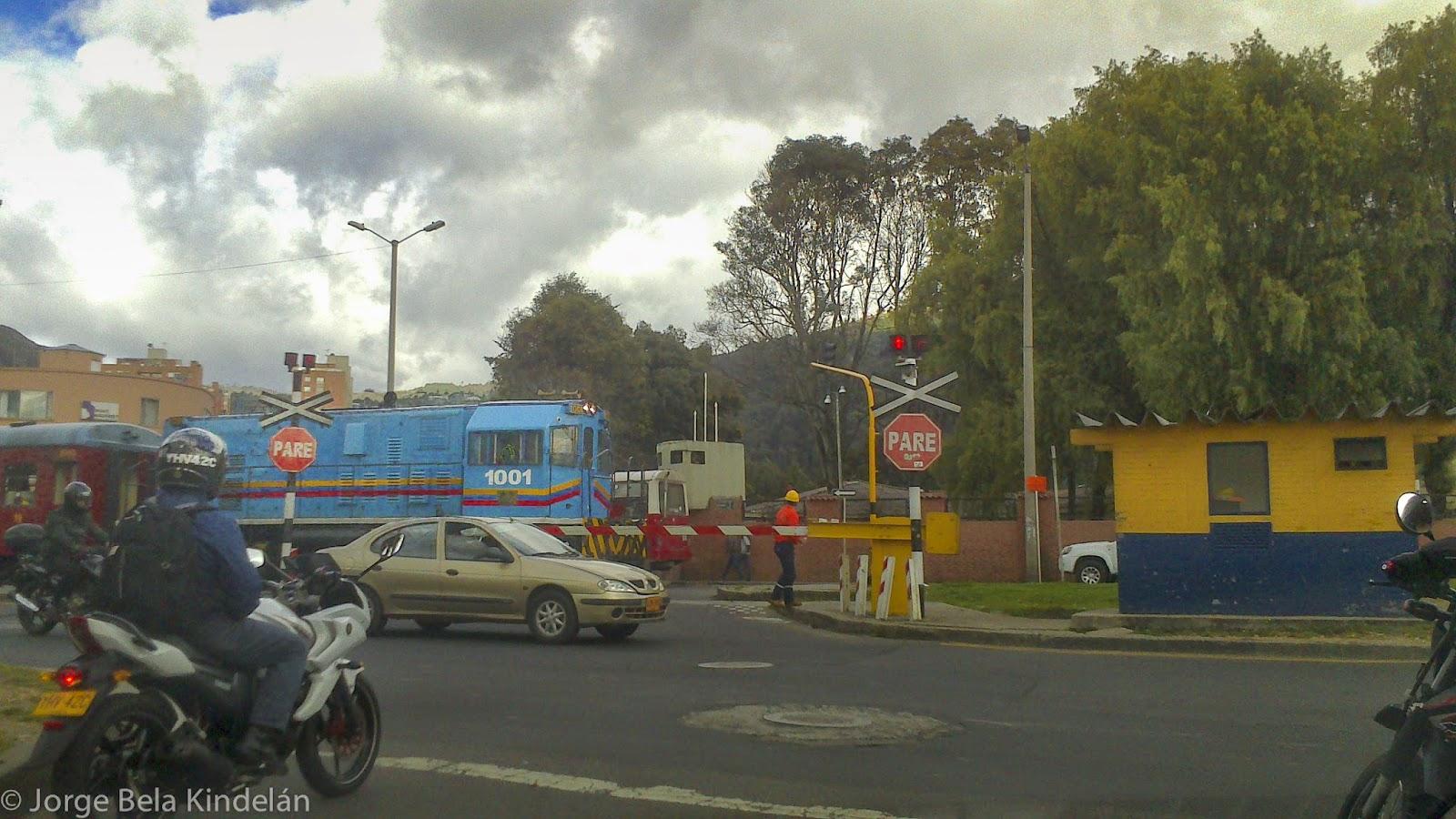 En Bogotá no hay trenes de pasajeros. Solo una línea, de uso turístico. Foto: Jorge Bela