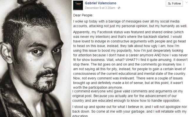 Gab Valenciano and Ramon Bautista Responds to Basher; Chito has Message for Voters