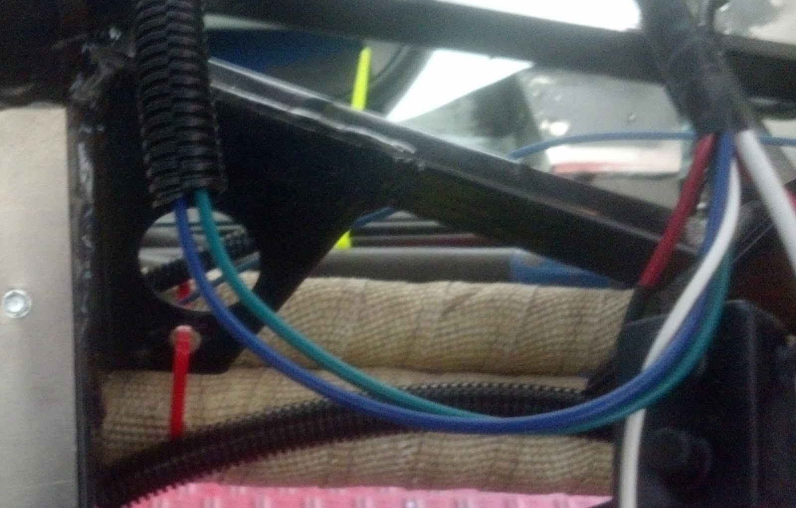 Super Car Build Install Invironment Circuit 1 3 Vintage Air Ac Wiring Diagram These Wires Are Part Of The Harness Blue Goes To Compressor And Green Runs Heater Control Valve