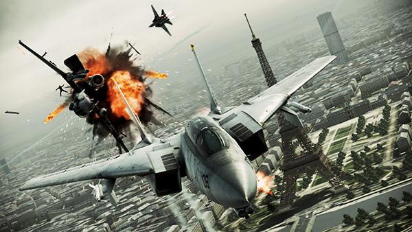 Ace Combat Assault Horizon screenshot 1