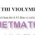 Tải 120 bài toán luyện thi ViOlympic lớp 5