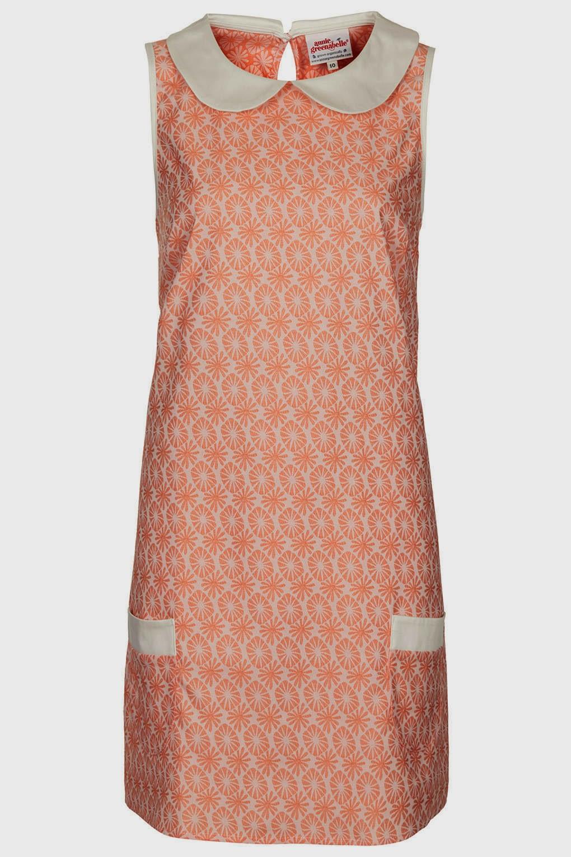 annie greenabelle peach dress