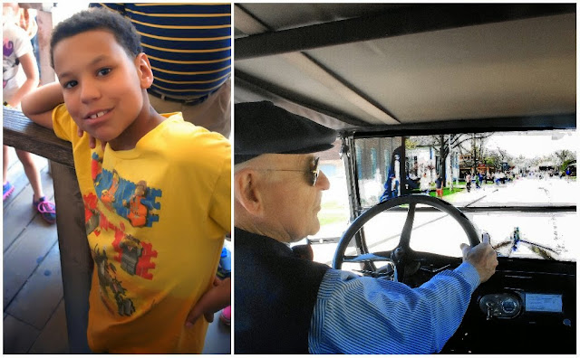 Reason 9: Riding in a Vintage Model T at Henry Ford Museum  | iNeedaPlaydate.com @mryjhnsn