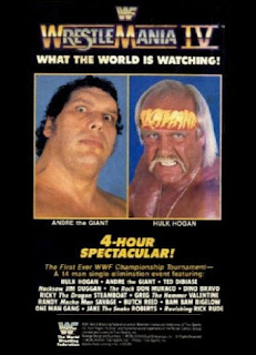 WWF / WWE Wrestlemania 4 Review - Event Poster