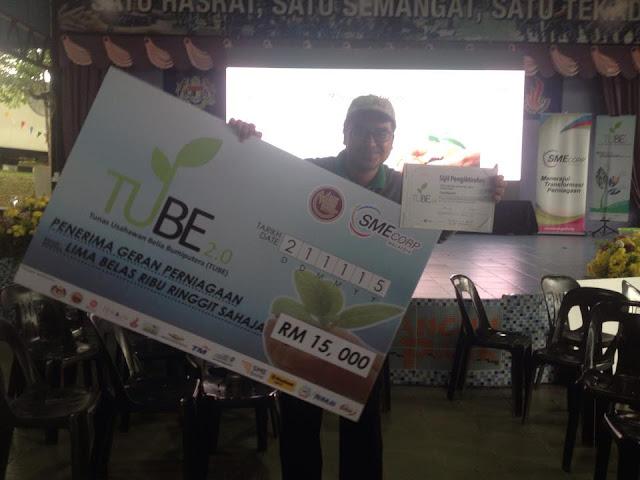 Satay Ikan Online Dapat Dana RM15,000 Dari Kerajaan