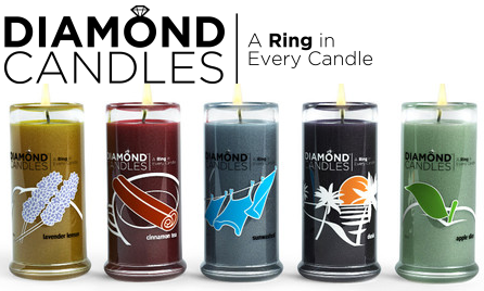 If youre looking for a gift with a difference, Diamond Candles is the perfect solution, combining the scents of % soy candles with an exciting and fun experience. Heres how it works. Purchase a candle and, as it burns down, a $10 ring and code will be revealed. Type in your code for the chance to win a ring valued at $5,
